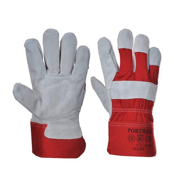portwest-a220-premium-chrome-rigger-glove-red-grey-1