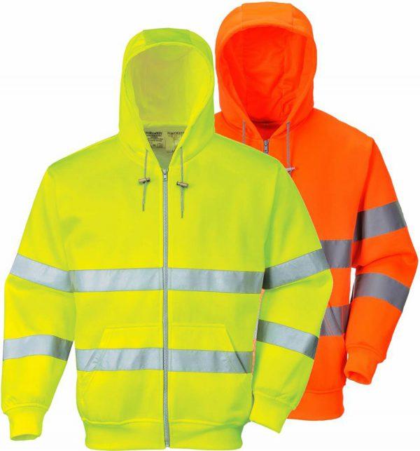 portwest-hi-vis-hoody-met-rits-b305-geel-of-oranje