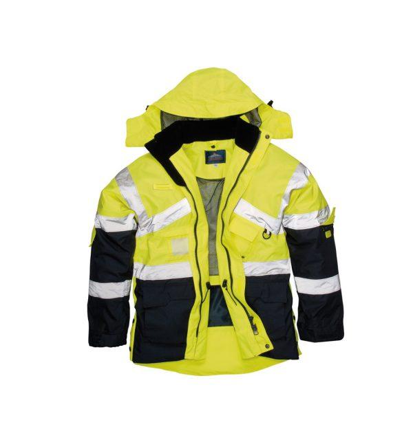 yellow-navy-portwest-hivis760
