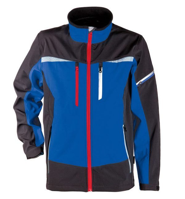 PRISMA SOFTSHELL JACKET Blue